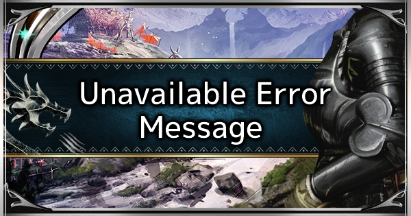 MHW: ICEBORNE | Unavailable Error Name - Acidic Glavenus Item - GameWith