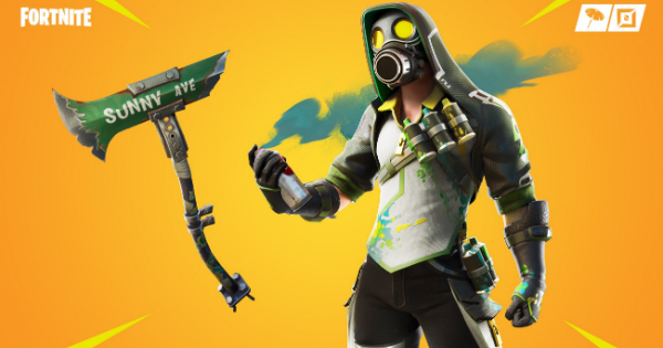 Fortnite | TOXIC TAGGER Skin - Set & Styles - GameWith