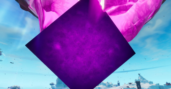 Fortnite | Giant Glowing Cube Location (Giant Glowing Cube Guide)