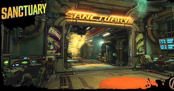 Borderlands 3 | Sanctuary 3 Guide - Rooms, Shops & Golden Chest | BL3
