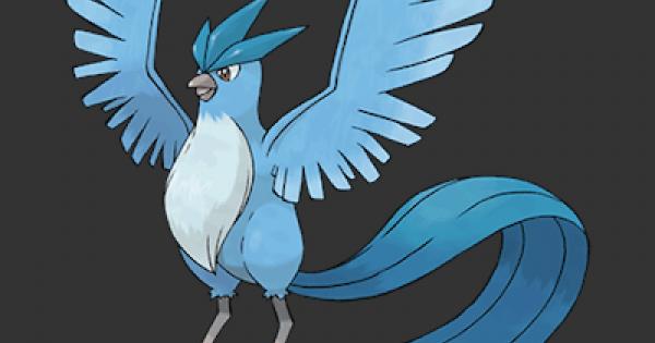 Pokemon Let's Go | Articuno - Stats, Moves, Evolution & Locations