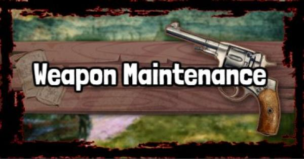 Red Dead Redemption 2 | Weapon Maintenance & Degradation | RDR2
