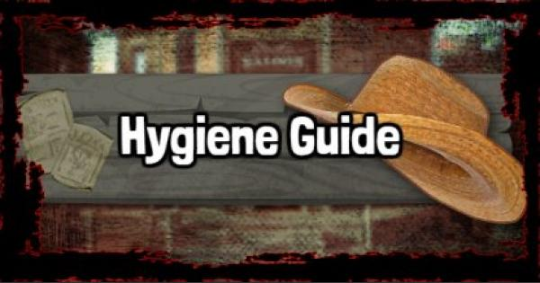 RDR2 | Hygiene & Appearance Guide | Red Dead Redemption 2