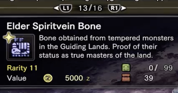 MHW: ICEBORNE | Elder Spiritvein Bone Farming & Usage Guide - GameWith