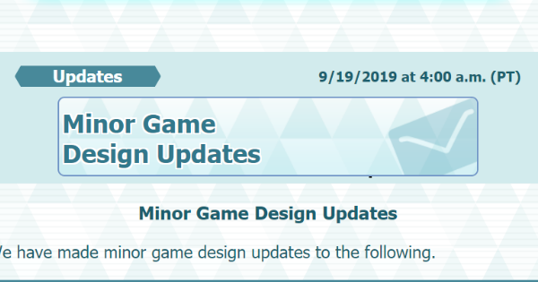 Pokemon Masters | Latest Update - September 19 2019