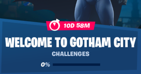 Fortnite | Welcome to Gotham City  - GameWith