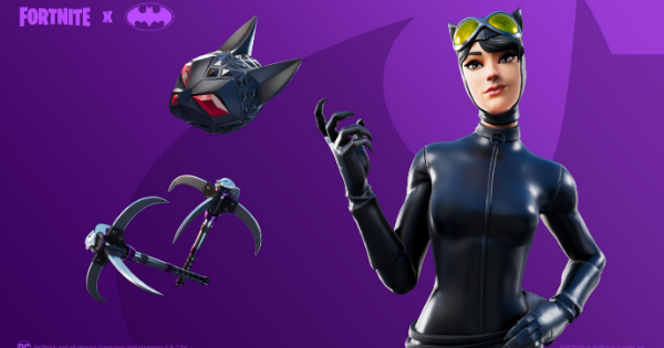 Fortnite | CATWOMAN COMIC BOOK OUTFIT Skin - Set & Styles - GameWith