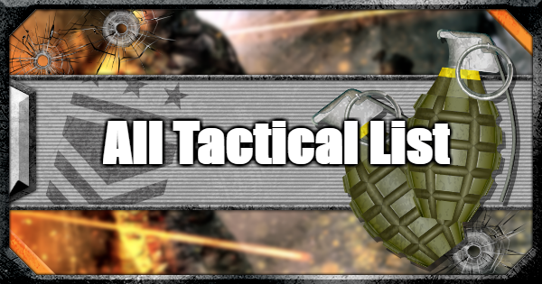 CoD: MW 2019 | All Tacticals List | Call of Duty: Modern Warfare
