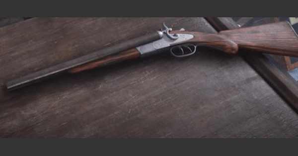 RDR2 | DOUBLE-BARRELED SHOTGUN - Stats & Customization | Red Dead Redemption 2 - GameWith