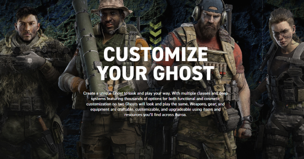 Ghost Recon Breakpoint | Character Creation & Customization