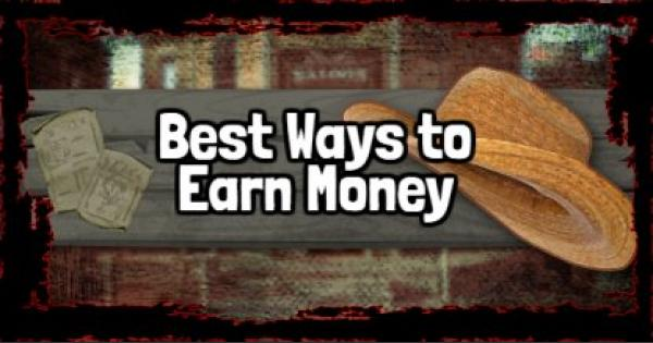 RDR2 | Best Ways to Earn Money | Red Dead Redemption 2 - GameWith