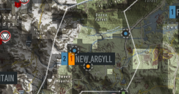 Intel & Bivouac Locations - New Argyll - GameWith
