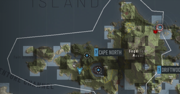 Intel & Bivouac Locations - Cape North - GameWith