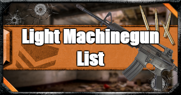 Warzone | All Light Machine Guns (LMG) - Weapon List & Traits | Call of Duty Modern Warfare - GameWith