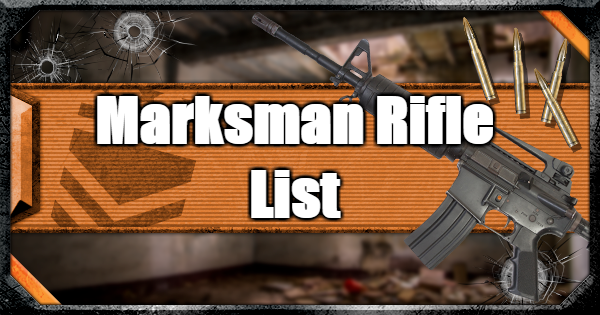 Warzone | All Marksman Rifles - Weapon List & Traits | Call of Duty Modern Warfare - GameWith