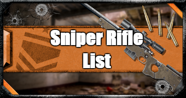 Warzone | All Sniper Rifles - Weapon List & Traits | Call of Duty Modern Warfare - GameWith