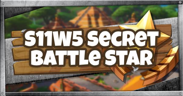 Fortnite | Chapter 2 Season 1 Week 5 Secret Battle Star Location - GameWith