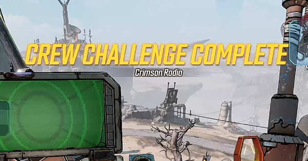 Crimson Radio Challenge - Location & Guide