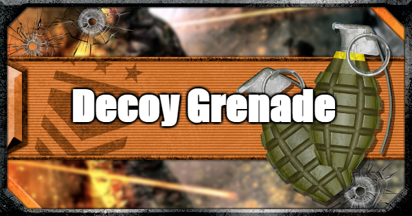 Warzone | Decoy Grenade - Tactical Guide | Call of Duty Modern Warfare - GameWith
