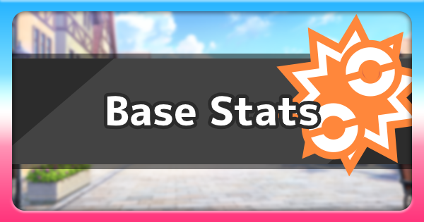 What Are Base Stats? | Pokemon Sword Shield - GameWith