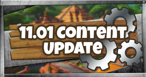 Fortnite | 11.01 Patch Notes (11.01 Content Update Guide)