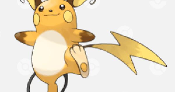 Pokemon Sword and Shield | Raichu - Location, Base Stats & Movesets