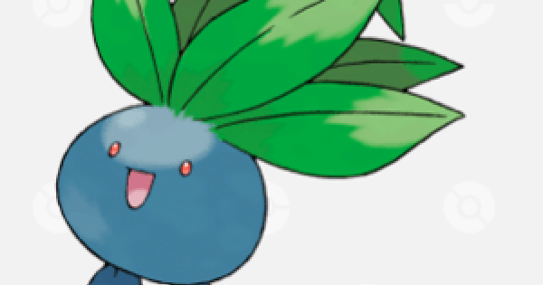 Pokemon Sword and Shield | Oddish - Location, Base Stats & Movesets