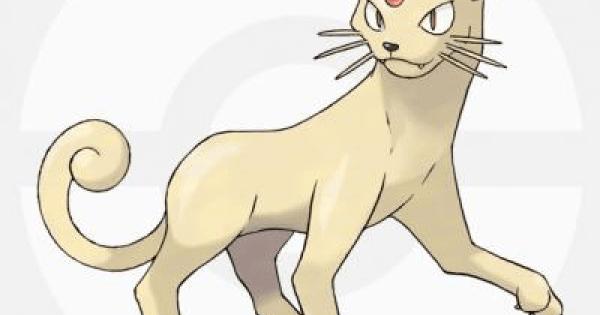Pokemon Sword and Shield | Persian - Location, Base Stats & Movesets