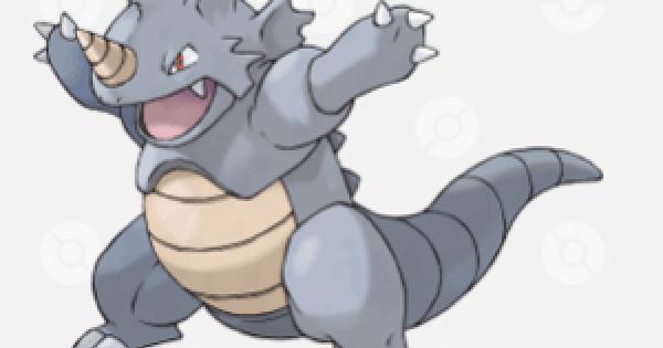 Pokemon Sword and Shield | Rhydon - Location, Base Stats & Movesets