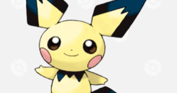 Pokemon Sword and Shield | Pichu - Location, Base Stats & Movesets
