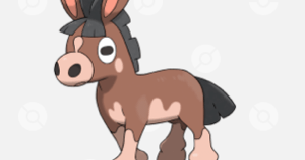 Pokemon Sword Shield | Mudbray - Evolution Chart & Location
