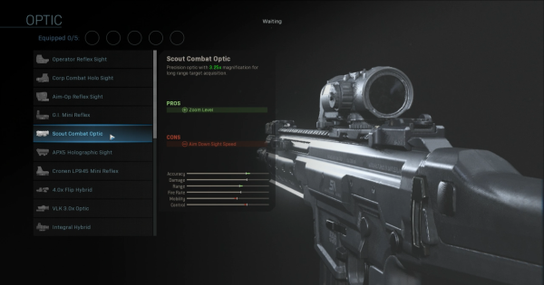 【Warzone】Scout Combat Optic - Optic Stats【Call of Duty Modern Warfare】 - GameWith