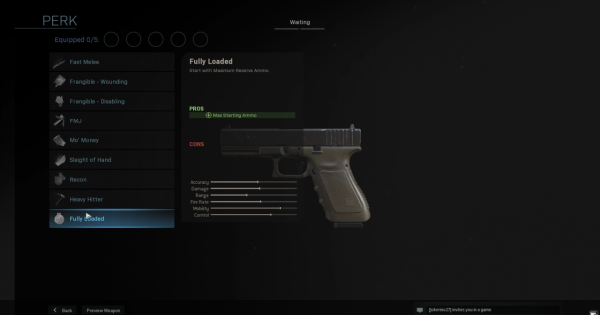 【Warzone】Fully Loaded - Perk Stats【Call of Duty Modern Warfare】 - GameWith