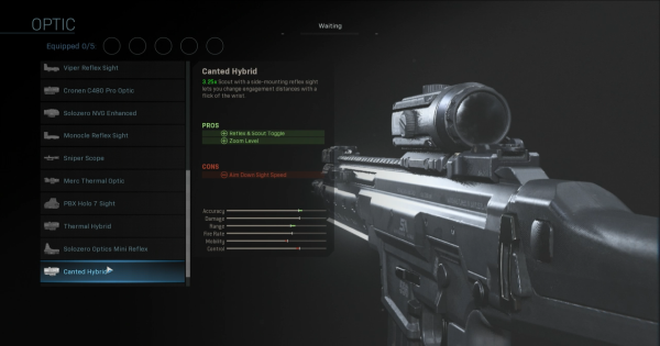 【Warzone】Canted Hybrid - Optic Stats【Call of Duty Modern Warfare】 - GameWith