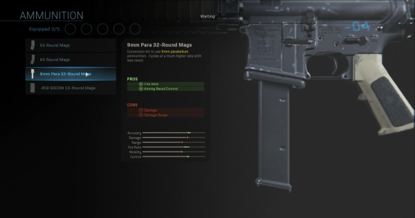 【Warzone】9mm Para 32-Round Mags - Magazine Stats【Call of Duty Modern Warfare】 - GameWith
