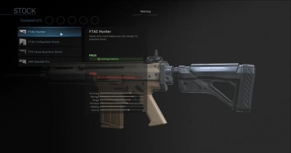 【Warzone】FTAC Hunter - Stock Stats【Call of Duty Modern Warfare】 - GameWith