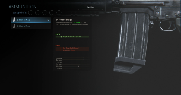 Warzone | 24 Round Mags - Magazine Stats | Call of Duty Modern Warfare - GameWith