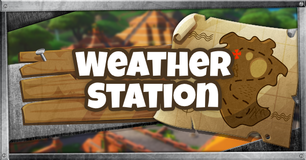 Fortnite | Weather Station Location