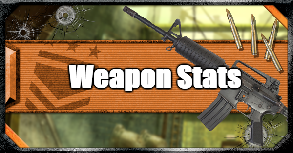 【Warzone】Weapon Stats List & Guide【Call of Duty Modern Warfare】 - GameWith