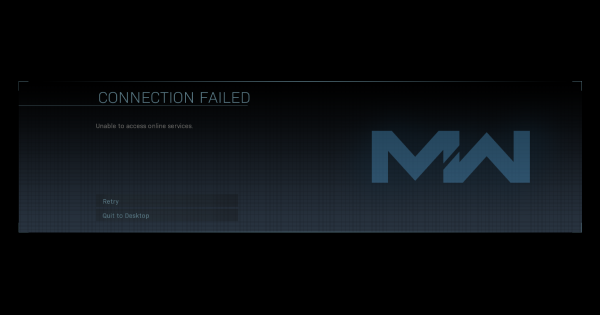Connection Failed / Server Down - How to Fix (Warzone)