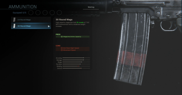 Warzone | 30 Round Mags - Magazine Stats | Call of Duty Modern Warfare - GameWith