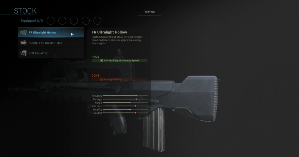 【Warzone】FR Ultralight Hollow - Stock Stats【Call of Duty Modern Warfare】 - GameWith