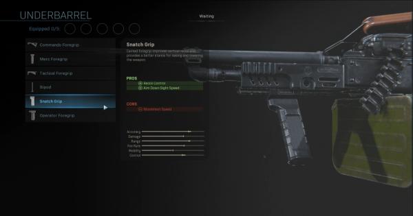 Warzone | Snatch Grip - Underbarrel Stats | Call of Duty Modern Warfare - GameWith