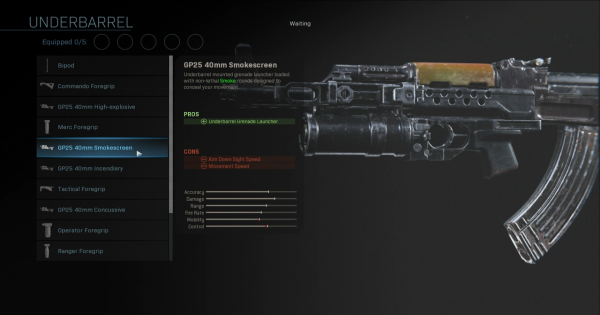 【Warzone】GP25 40mm Smokescreen - Underbarrel Stats【Call of Duty Modern Warfare】 - GameWith