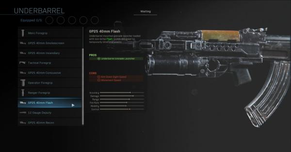 【Warzone】GP25 40mm Flash - Underbarrel Stats【Call of Duty Modern Warfare】 - GameWith