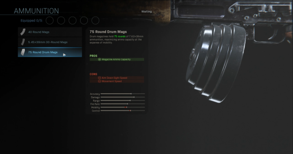 【Warzone】75 Round Drum Mags - Magazine Stats【Call of Duty Modern Warfare】 - GameWith
