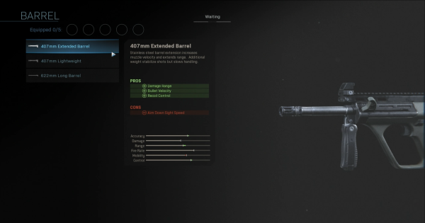 【Warzone】407mm Extended Barrel - Barrel Stats【Call of Duty Modern Warfare】 - GameWith