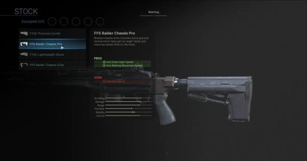 CoD: MW 2019 | FFS Raider Chassis Pro - Stock Stats | Call of Duty: Modern Warfare
