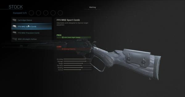 【Warzone】FSS MK2 Sport Comb - Stock Stats【Call of Duty Modern Warfare】 - GameWith