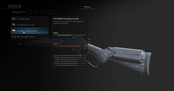 CoD: MW 2019 | FFS MK2 Precision Comb - Stock Stats | Call of Duty: Modern Warfare